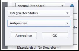 """Intergrierter Status """"Aufgerufen"""""""
